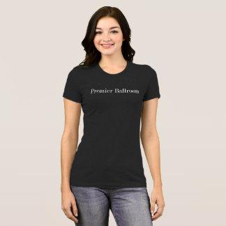 ダークグレー首位のBallroom SlimジャージーのTシャツ- Tシャツ