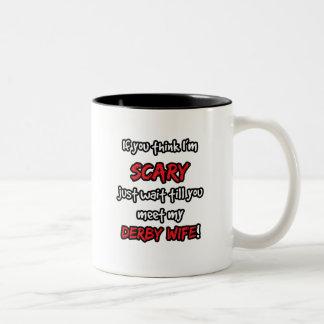 ダービーの妻 ツートーンマグカップ