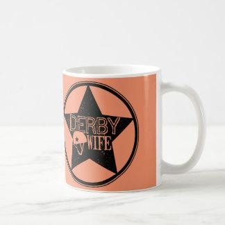 ダービーの妻、ローラーダービー コーヒーマグカップ