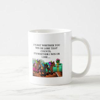 ダービー競馬 コーヒーマグカップ