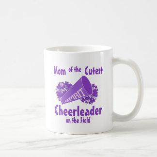 チアリーダーのお母さん コーヒーマグカップ
