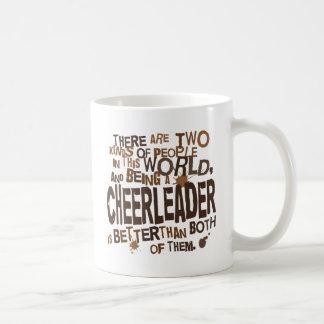 チアリーダーのギフト コーヒーマグカップ