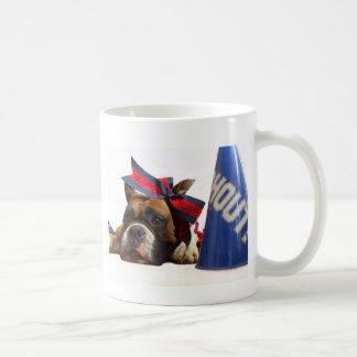 チアリーダーのボクサーのマグ コーヒーマグカップ