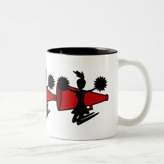 チアリーダーのマグ ツートーンマグカップ