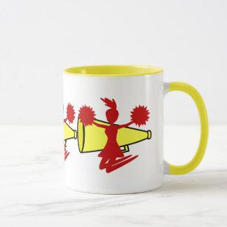 チアリーダーのマグ マグカップ