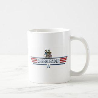 チアリーダーのロゴ コーヒーマグカップ