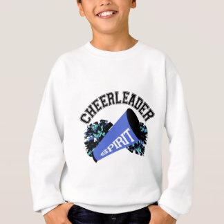 チアリーダーの青 スウェットシャツ