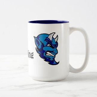 チアリーダーをすることのためのコーヒー・マグ ツートーンマグカップ