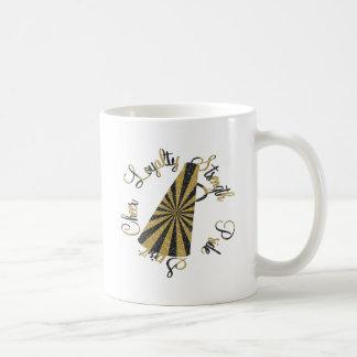 チアリーダーをすること コーヒーマグカップ