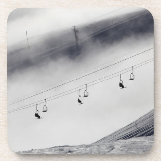 チェアリフトのスキーヤー コースター