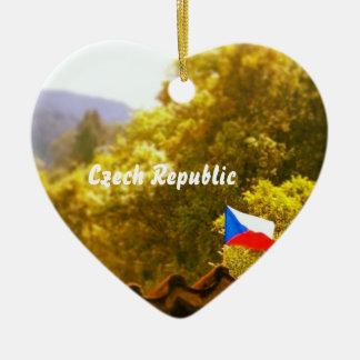 チェコスロバキア共和国のオーナメント セラミックオーナメント