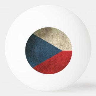 チェコスロバキア共和国のヴィンテージの動揺してな旗 卓球ボール