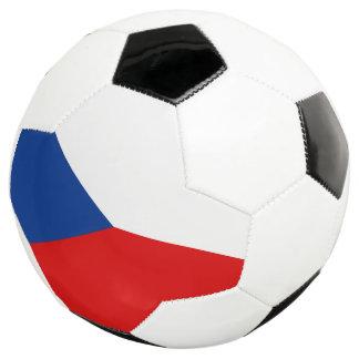 チェコスロバキア共和国の旗 サッカーボール