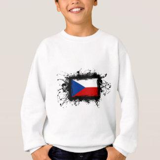 チェコスロバキア共和国の旗 スウェットシャツ