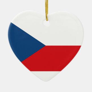 チェコスロバキア共和国の旗 セラミックオーナメント