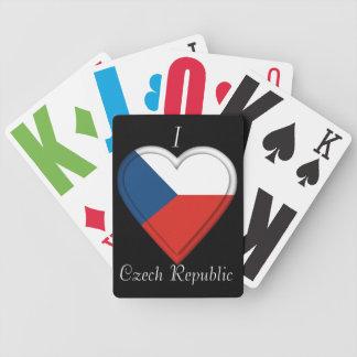 チェコスロバキア共和国の旗 バイスクルトランプ