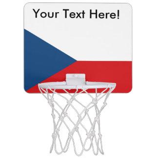 チェコスロバキア共和国の旗 ミニバスケットボールゴール
