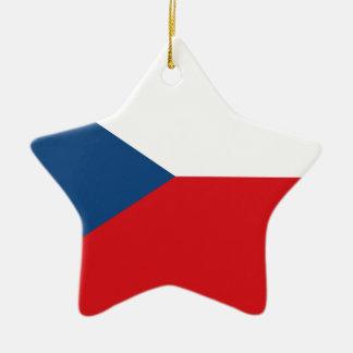 チェコスロバキア共和国の旗- Českáのvlajka セラミックオーナメント