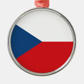 チェコスロバキア共和国の旗- Českáのvlajka メタルオーナメント