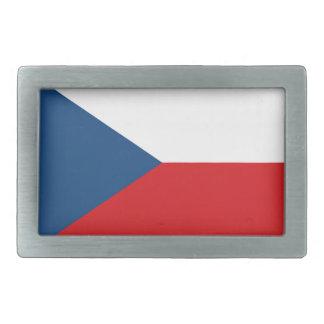 チェコスロバキア共和国の旗- Českáのvlajka 長方形ベルトバックル