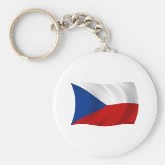 チェコスロバキア共和国の旗Keychain キーホルダー