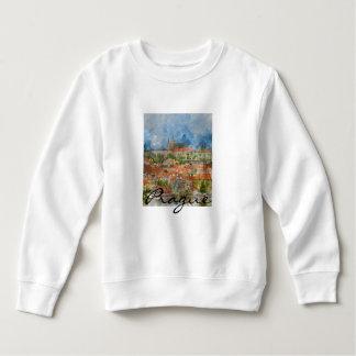 チェコスロバキア共和国の景色のプラハ スウェットシャツ