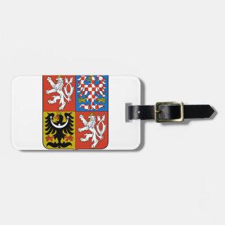 チェコスロバキア共和国の紋章付き外衣 ラゲッジタグ