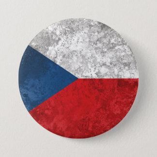 チェコスロバキア共和国 7.6CM 丸型バッジ