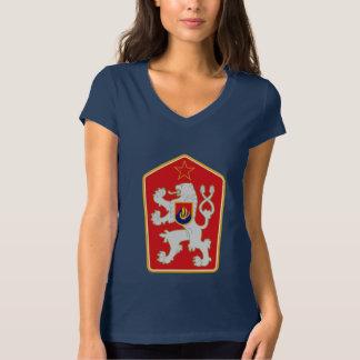 チェコスロバキア- (1960-1990年)紋章付き外衣 Tシャツ