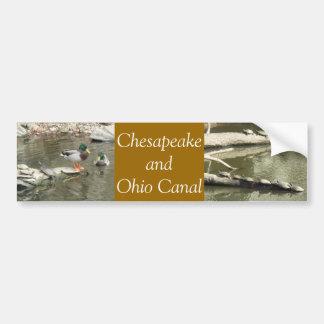 チェサピークおよびオハイオ州運河 バンパーステッカー