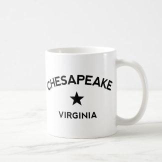 チェサピークのヴァージニアのコーヒー・マグ コーヒーマグカップ