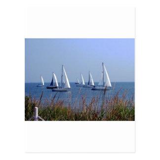 チェサピークの帆 ポストカード