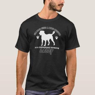 チェサピークのretriver犬犬のお父さん tシャツ