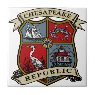 チェサピーク共和国 タイル