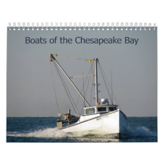 チェサピーク湾のボート カレンダー