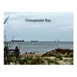 チェサピーク湾の午後 ポストカード