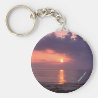 チェサピーク湾の日の出Keychain キーホルダー