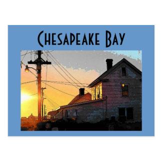 チェサピーク湾の郵便はがき ポストカード