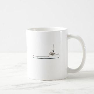 チェサピーク湾のDeadriseのボート コーヒーマグカップ
