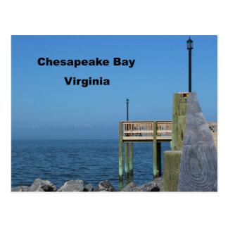 チェサピーク湾-ヴァージニア ポストカード
