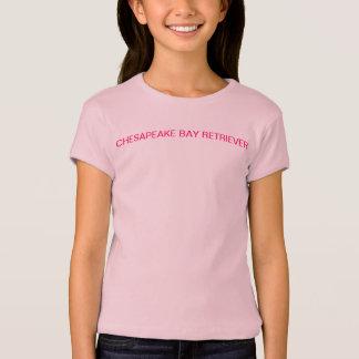チェサピーク・ベイ・レトリーバーの女の子のTシャツ Tシャツ