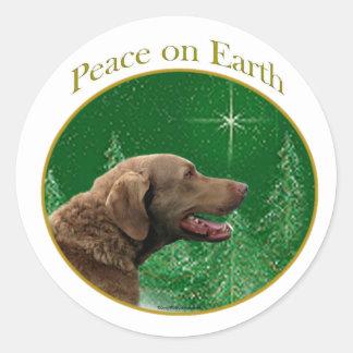 チェサピーク・ベイ・レトリーバーの平和 ラウンドシール