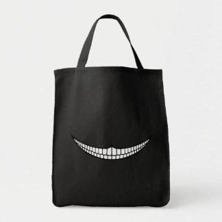 チェシャーのにやにや笑い トートバッグ