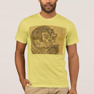 チェシャー猫のようににやにや笑うこと Tシャツ