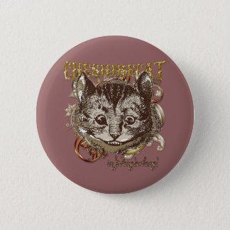 チェシャー猫のCarnivaleのスタイル(金ゴールド版) 缶バッジ