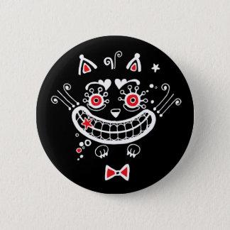 チェシャー猫ボタン 5.7CM 丸型バッジ