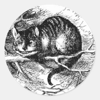 チェシャー猫 ラウンドシール