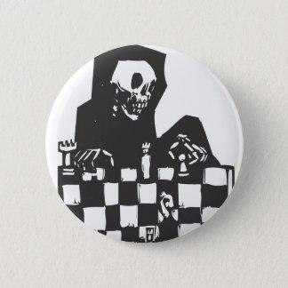チェスおよび死 5.7CM 丸型バッジ