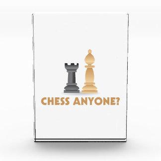 チェスだれでも駒 表彰盾