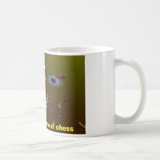 チェスのゲームのための宇宙 コーヒーマグカップ